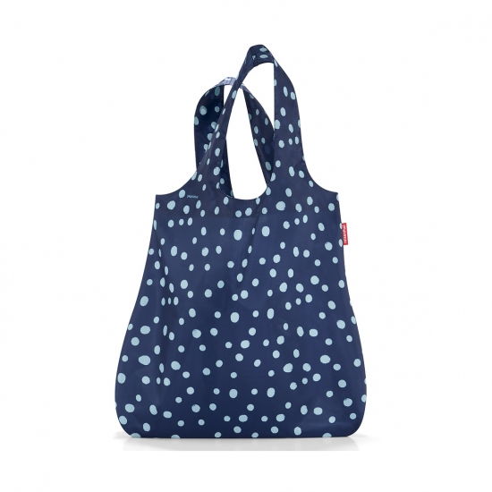 Сумка складная Mini Maxi Shopper, Spots navy