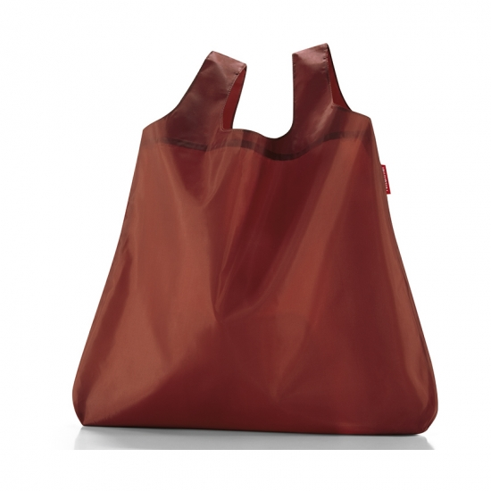 Сумка складная Mini Maxi Shopper Pocket, Marsala