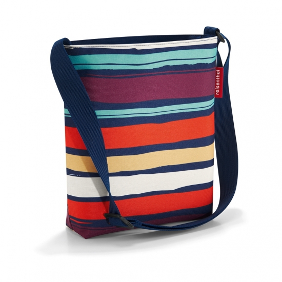 Сумка Shoulderbag S, Artist stripes