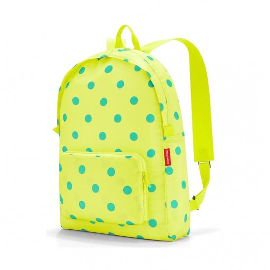 Рюкзак складной Mini Maxi, Lemon dots