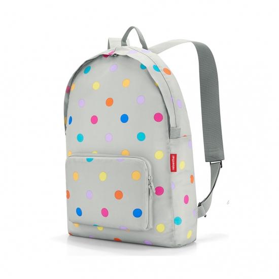 Рюкзак складной Mini Maxi, Stonegrey dots
