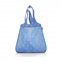 Сумка складная Mini Maxi Shopper, Azure dots