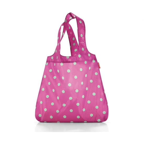 Сумка складная Mini Maxi Shopper, Magenta dots