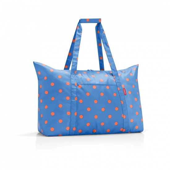 Сумка складная Mini Maxi Travelbag, Azure dots