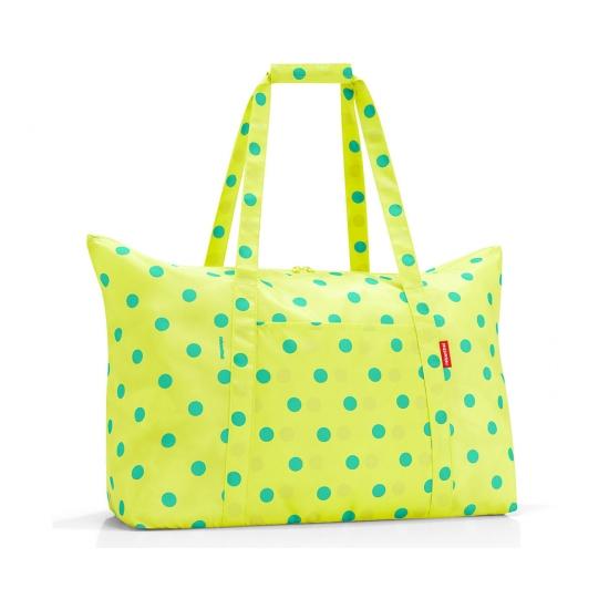 Сумка складная Mini Maxi Travelbag, Lemon dots