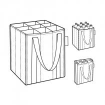 Сумка-органайзер для бутылок Bottlebag, Baroque taupe