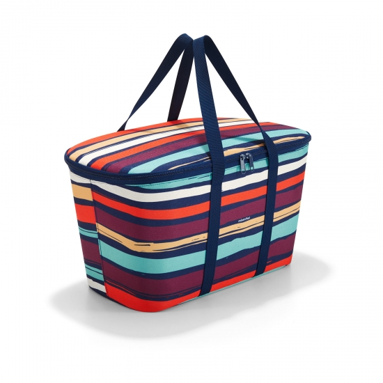 Термосумка Coolerbag, Artist stripes