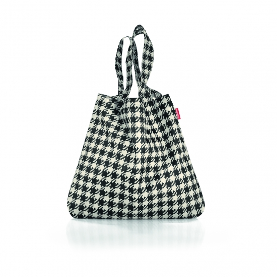 Сумка складная Mini Maxi Shopper, Fifties black