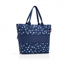 Сумка Shopper E1, Spots navy