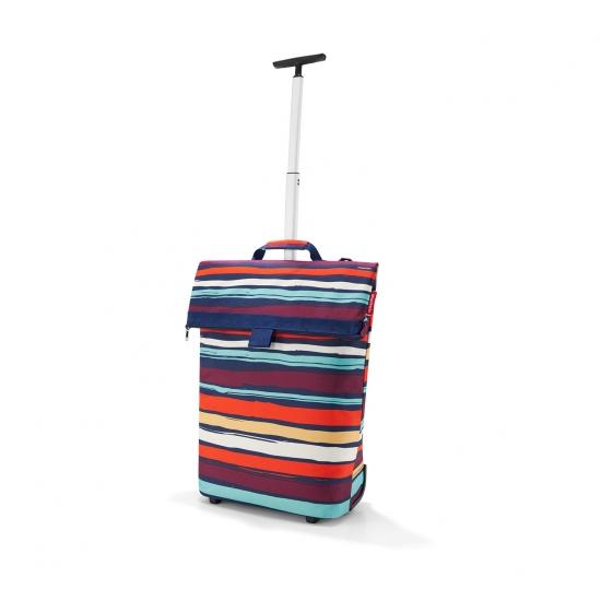 Сумка-тележка Trolley M, Artist stripes