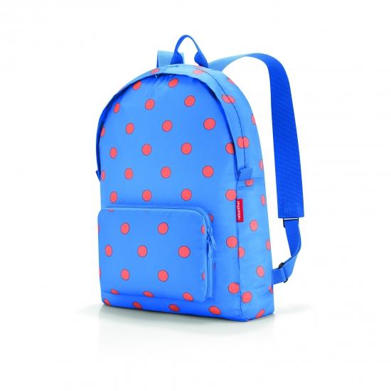Рюкзак складной Mini Maxi, Azure dots
