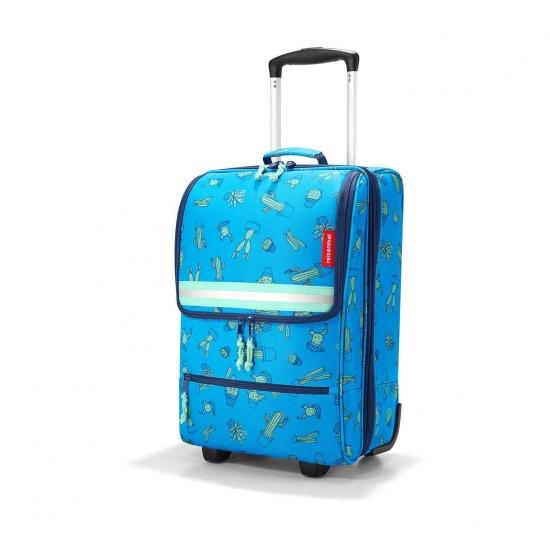 Чемодан детский Trolley XS, Cactus blue
