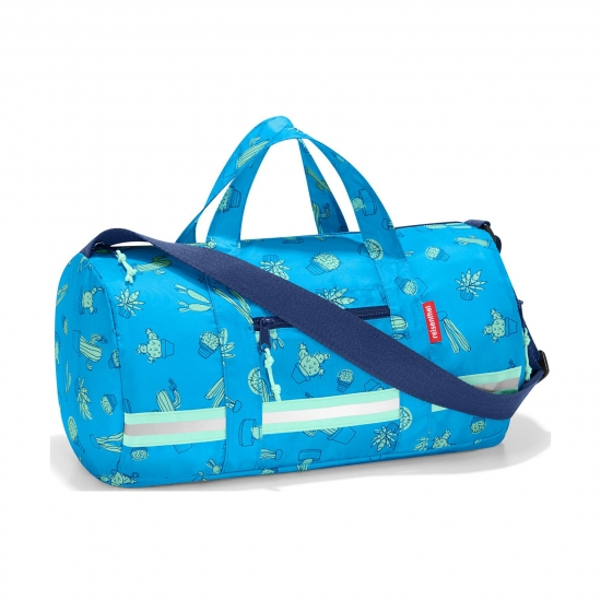 Сумка детская складная Mini Maxi Dufflebag S, Cactus blue