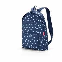 Рюкзак складной Mini Maxi, Spots navy