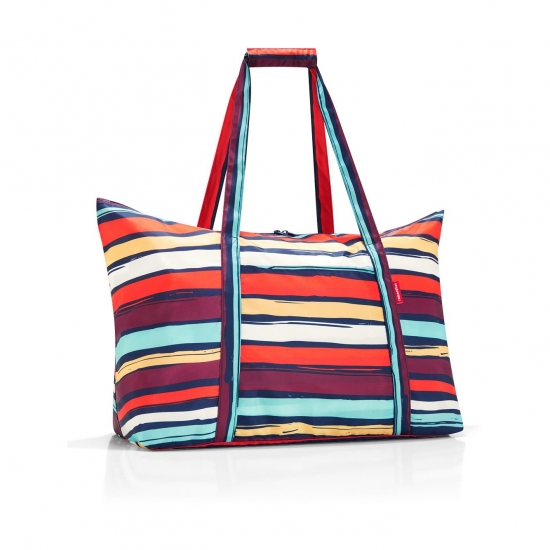 Сумка складная Mini Maxi Travelbag, Artist stripes