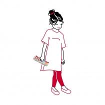 Пенал детский Pencilroll Circus, Red