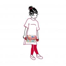 Сумка детская Everydaybag Circus, Red