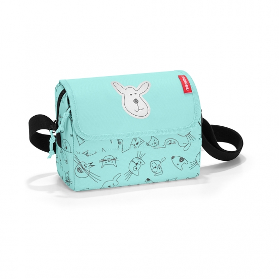 Сумка детская Everydaybag Kids Cats and dogs, Mint