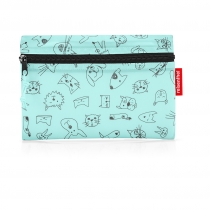 Сумка детская складная Dufflebag Dats and dogs, Mint