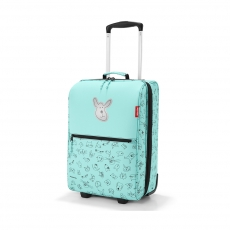 Чемодан детский Trolley XS Cats and dogs, Mint