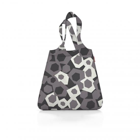 Сумка складная Mini Maxi Shopper, Geometry grey