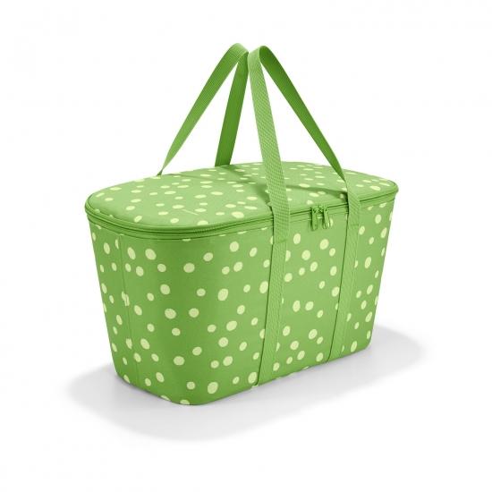 Термосумка Coolerbag, Spots green