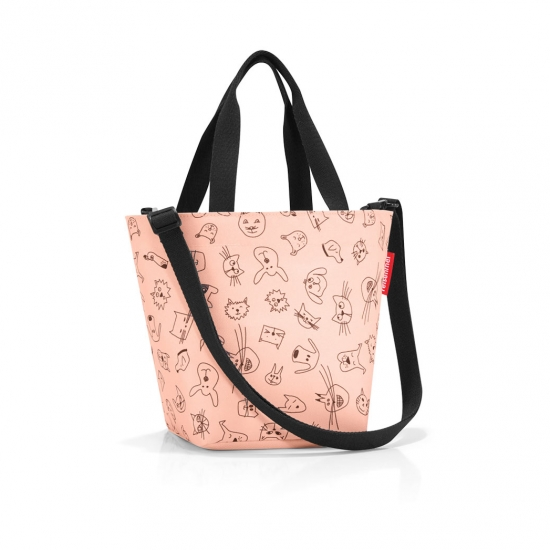 Сумка детская Shopper XS, Cats and dogs rose