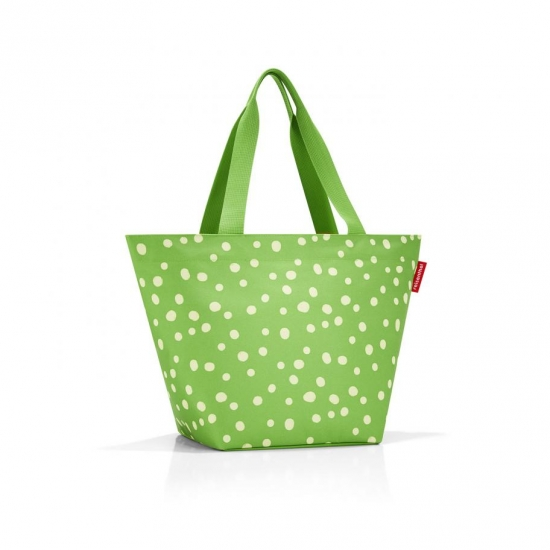 Сумка Shopper M, Spots green