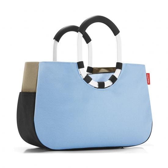 Сумка Loopshopper M Patchwork Pastel Blue