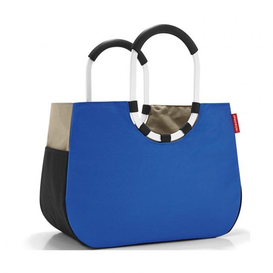 Сумка Loopshopper L Patchwork Royal blue