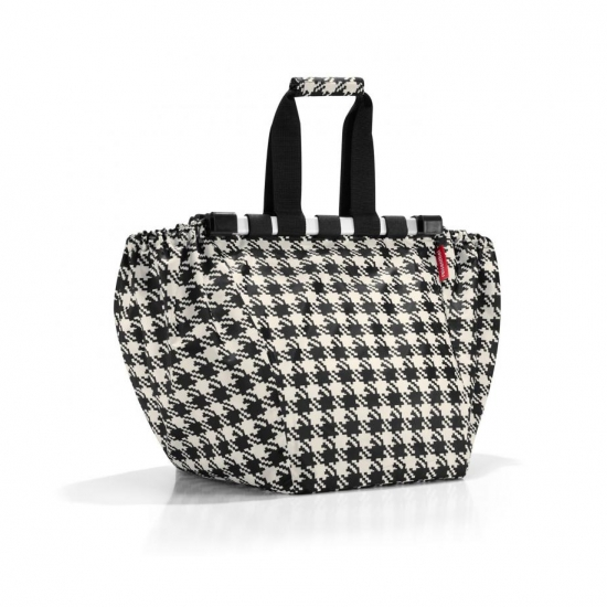 Сумка складная Easyshoppingbag Fifties black