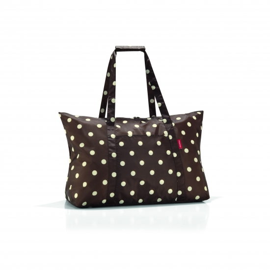 Сумка складная Mini Maxi Travelbag Mocha dots