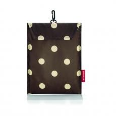 Сумка складная Mini Maxi Travelbag Mocha dots