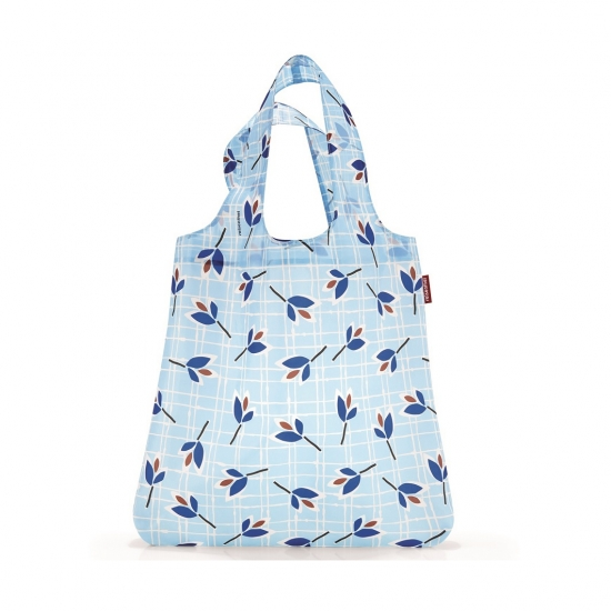 Сумка складная Mini Maxi Shopper Leaves Blue