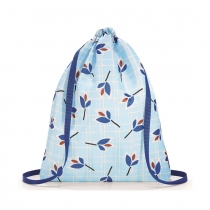 Рюкзак складной Mini Maxi Sacpack Leaves Blue