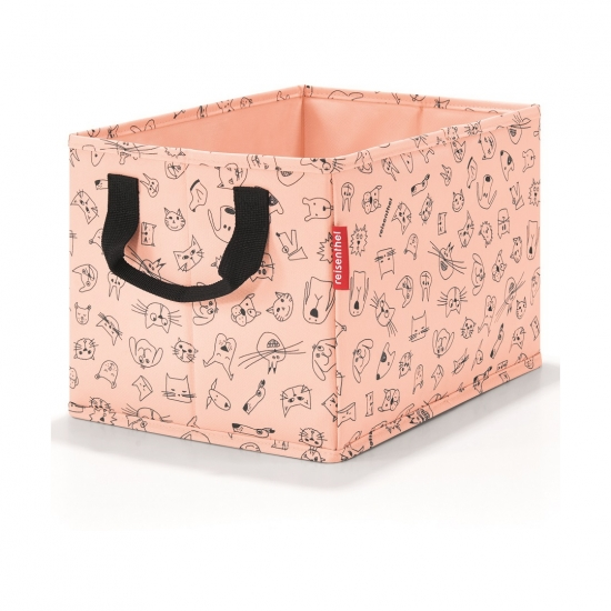 Коробка для хранения детская Storagebox Cats and Dogs Rose