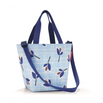 Сумка Shopper XS Leaves Blue