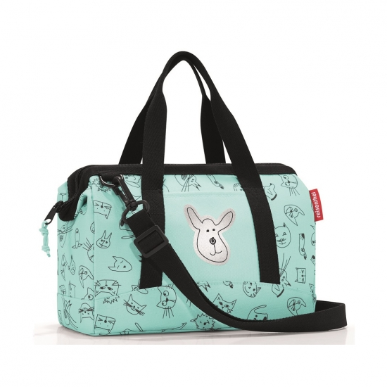 Сумка детская Allrounder XS Cats and Dogs Mint