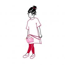 Сумка детская itbag ABC Friends Pink