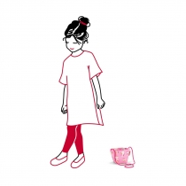 Сумка детская Minibag ABC Friends Pink