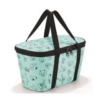 Термосумка детская Coolerbag XS Cats and Dogs Mint