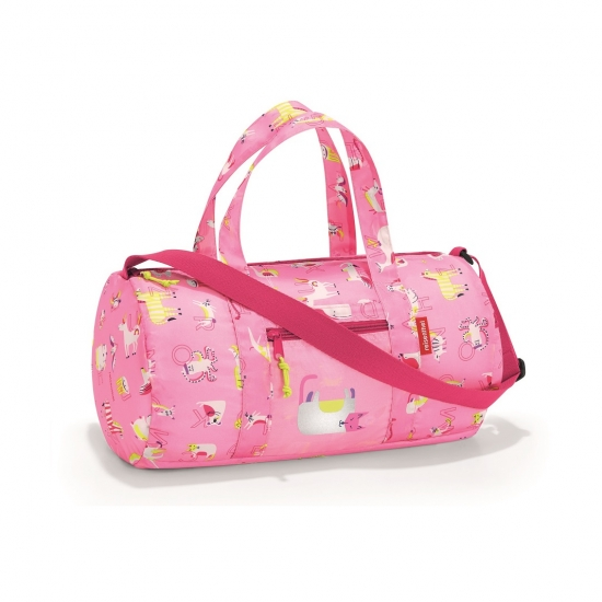 Сумка складная детская Dufflebag ABC Friends Pink