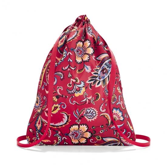 Рюкзак складной Mini Maxi Sacpack Paisley Ruby