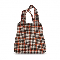 Сумка складная Mini Maxi Shopper Glencheck Red