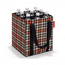 Сумка-органайзер для бутылок Bottlebag Glencheck Red