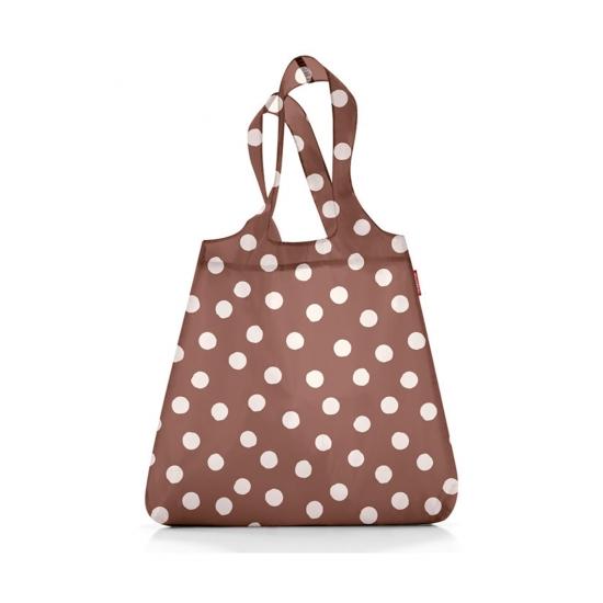 Сумка складная Mini Maxi Shopper Brown Dots