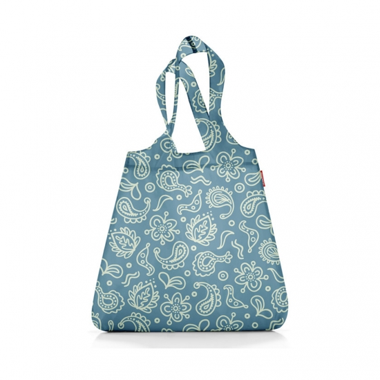 Сумка складная Mini Maxi Shopper Paisley Blue