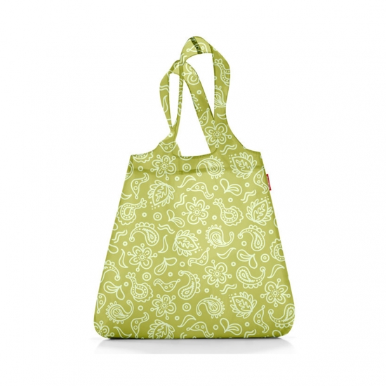 Сумка складная Mini Maxi Shopper Paisley Green