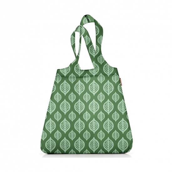Сумка складная Mini Maxi Shopper Green Leaves