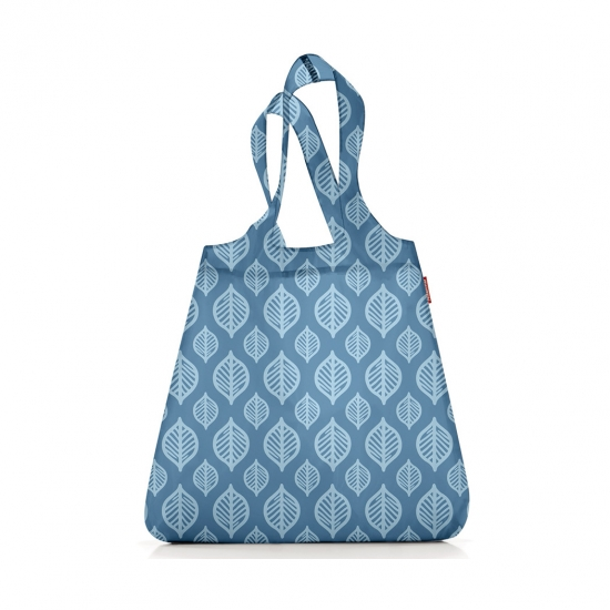 Сумка складная Mini Maxi Shopper Blue Leaves